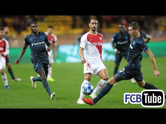 2018-2019 - Champions League - 04. Groep A Match 4 - AS Monaco - Club Brugge 0-4