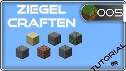 🌟 Minecraft Ziegelsteine - verschiedenster Art craften | Wiki | Tutorial #5 | Deutsch | CLM