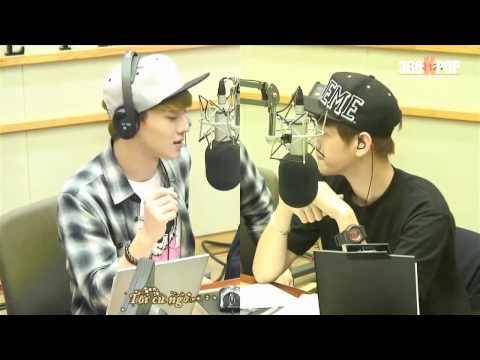 [Vietsub][Perf] Chen & BaekHyun - Emergency Room @Kiss The Radio 130916 {EXO team} [360kpop]