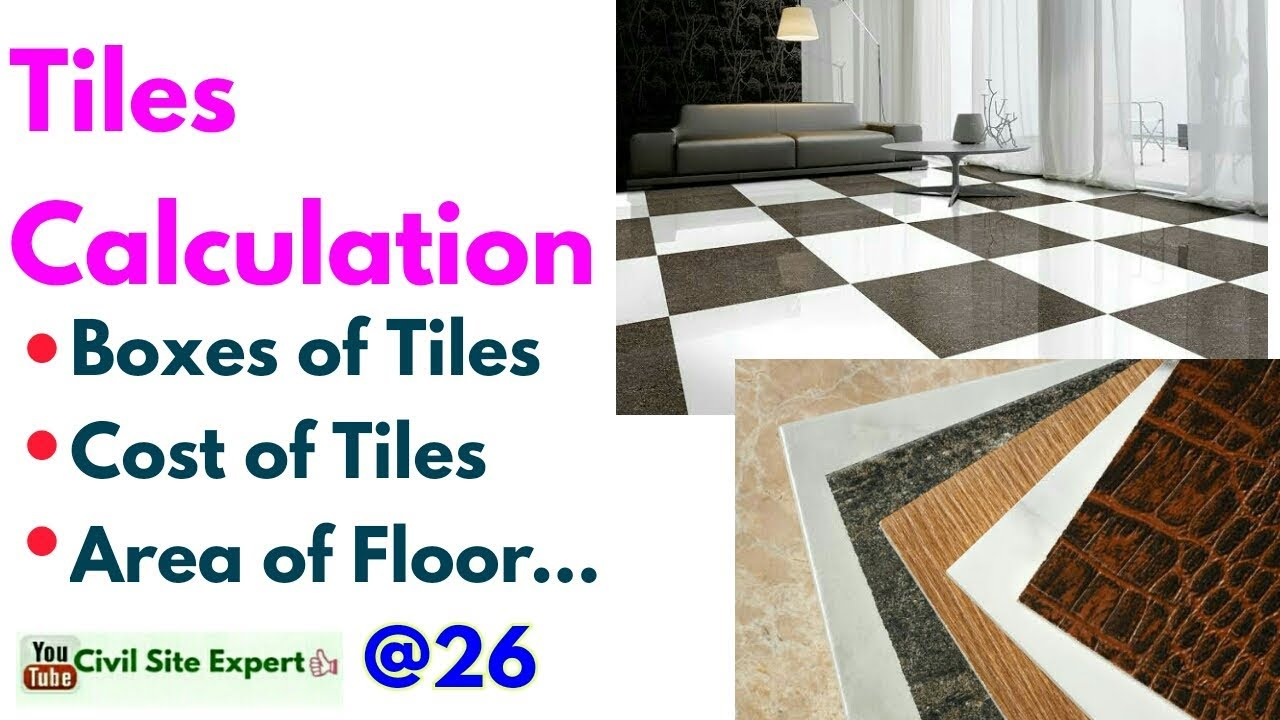 Tiles Calculation Tile Box Installation For Flooring Cost Of