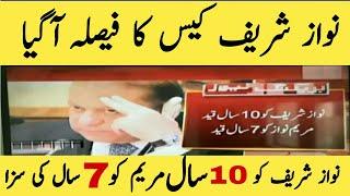 Nawaz Sharif Case Decision| Nab Court Decision About Nawaz Sharif | AvenField Reference| Yt Qurban.