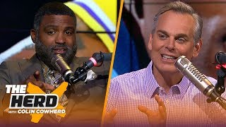 Cuttino Mobley on Walt Frazier calling out LeBron & Russell Westbrook's suspension | NBA | THE HERD