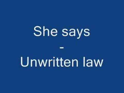 She Says - Unwritten Law