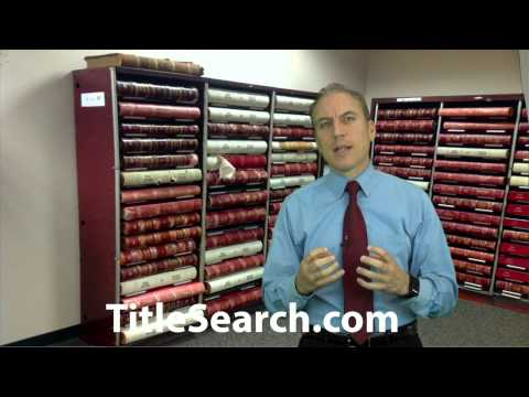 How Do You Run A Title Search Using Public Records? | AFX