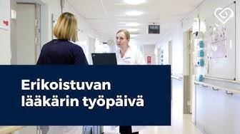 Seuraa erikoistuvan lääkärin työpäivää⎪Töissä Helsingin kaupungin SoTe:lla⎪Duunitori