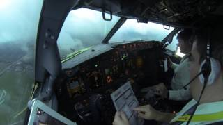 Pilot stories: Evening Approach at Domodedovo