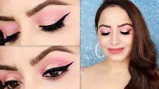 Simple Peach Glowy Makeup Tutorial For Valentine's Day in HINDI | Deepti Ghai Sharma