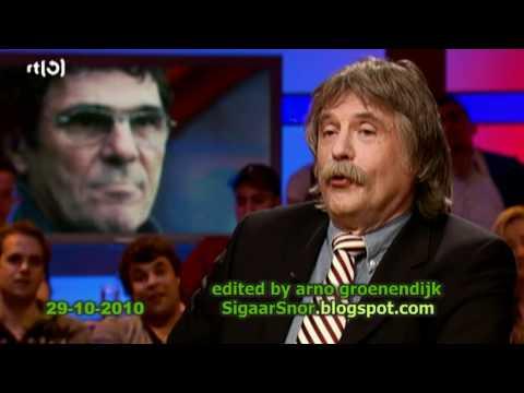 Johan moet huilen als hij Wilfred Genee de Jupiler League ziet presenteren