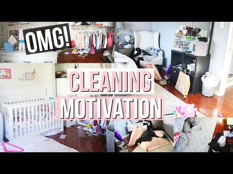 MESSY HOUSE TRANSFORMATION | COMPLETE DISASTER CLEAN WITH ME | EXTREME BEDROOM CLEANING MOTIVATION