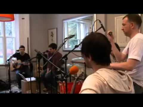 Snow Patrol Live Lounge  cover of One Day Like This.flv