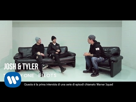 #WarnerSquad - Twenty One Pilots interviewed by Benji (Benji & Fede)