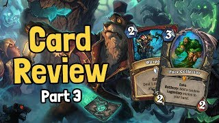 New Legendary & My Perfect Prediction - Witchwood Card Review Part 3 - Hearthstone