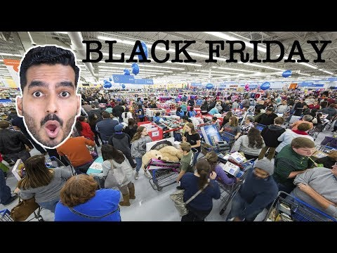 BLACK FRIDAY PE AMERICA KA HAAL - INDIAN VLOGGER IN USA( Black Friday Sales Hindi Vlog)