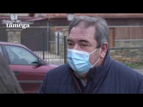 VÍDEO | Así está sendo a primeira xornada do cribado masivo do Sergas en Verín