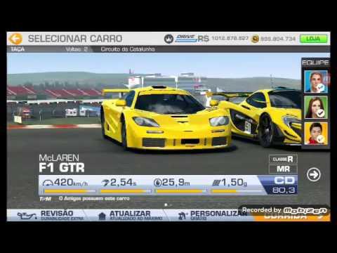 real racing 3 ○ mclaren f1 gtr ○ passando geral na primeira curva