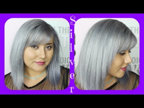 I Have Silver Hair Roux Fancifull Rinse Youtube