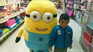Funny Zefa indoor playground with Super Minion