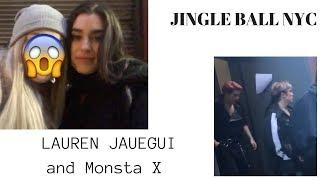 Monsta X and Lauren Jauregui in NYC!//// TREYESS