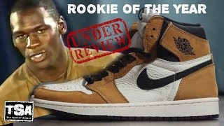 19afe6f7083353 Air Jordan 1 Rookie of The Year OG Retro Sneaker HONEST Detailed REAL Review