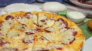 Итальянская пицца. Часть 3: Как раскатать, собрать и выпекать пиццу.