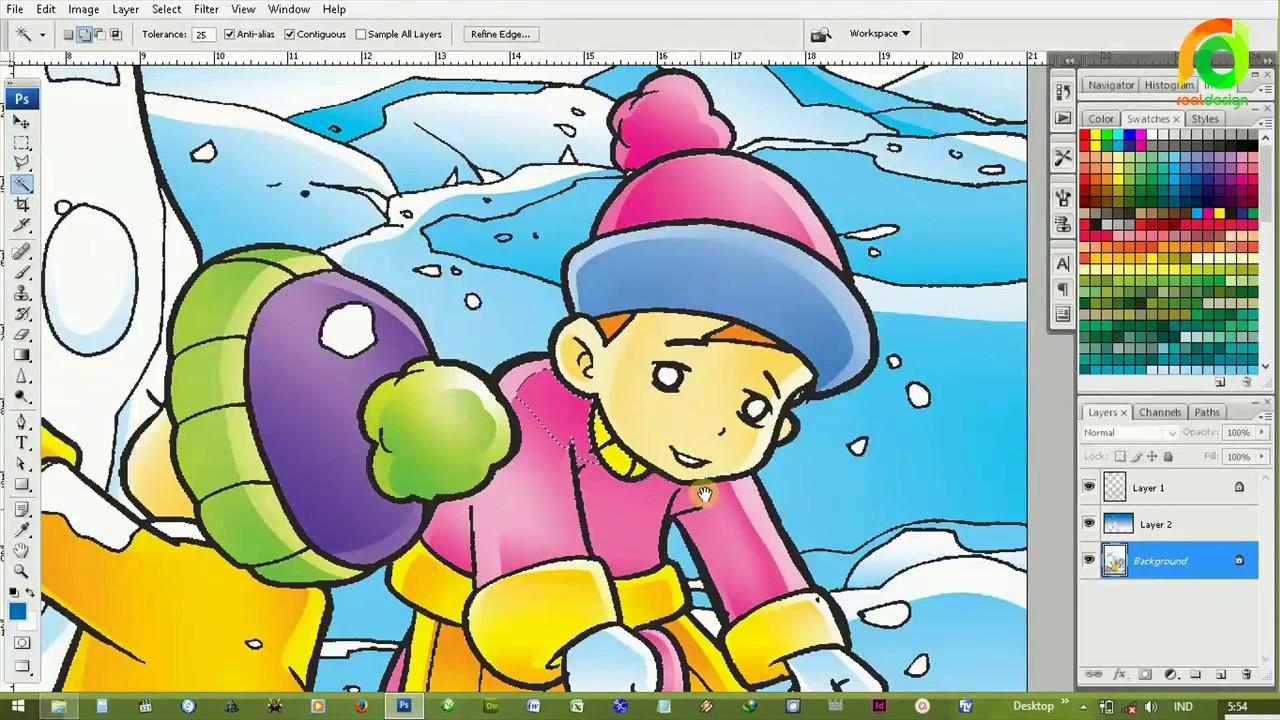 paling keren download sketsa mewarnai gambar untuk anak