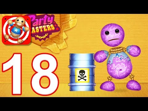Kick the Buddy - Gameplay Walkthrough Part 18 - All Bio Weapons (iOS)