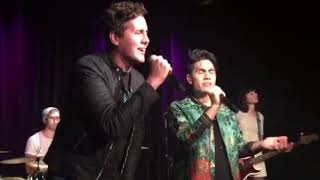 Thinking Out Loud/I'm Not the Only One - Sam Tsui and Casey Breves WITH KISS