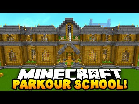 Minecraft PARKOUR SCHOOL! (50 CUSTOM LEVELS!) w/ PrestonPlayz