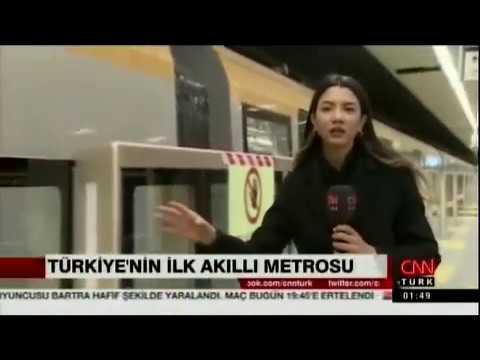 Üsküdar - Ümraniye - Çekmeköy Sancaktepe Metro hattı deneme seferleri başladı. CNN Türk