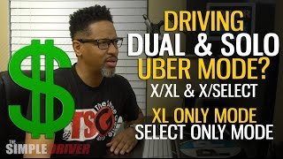 No Uber Prank - Learn Platform Request to Drive In Dual or Solo Mode For UberX, Uber XL, Uber Select