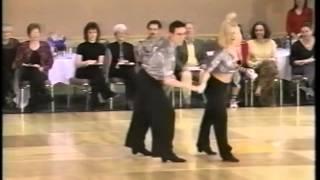 Jordan Frisbee & Tatiana Mollmann-Bennett 2000 Capital Swing Junior Routine Exhibition
