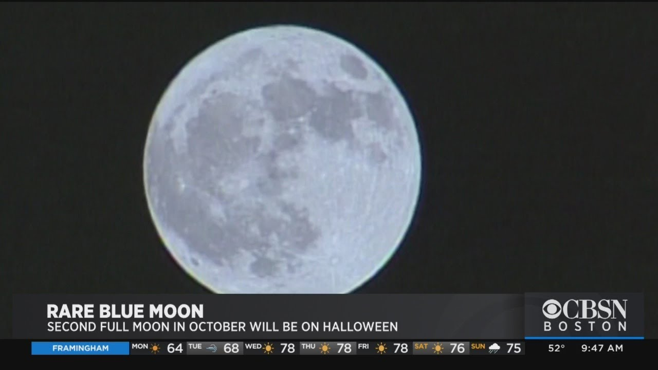 A rare blue moon will fall on Halloween this year  here's how to ...