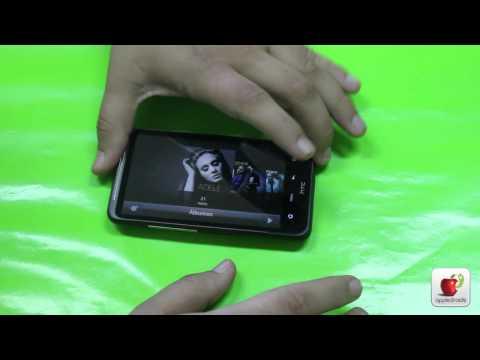 HTC inspire 4G Unboxing y primera vista a la personalización de htc