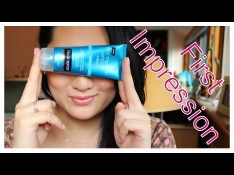 First Impression – Neutrogena Eye Makeup Remover LOTION?