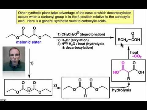 decarboxylation-of-beta-carbonyl-acids