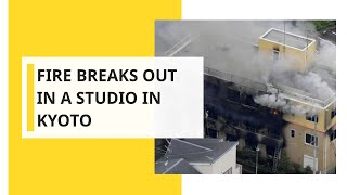 Kyoto Animation studio: Suspected arson attack in Japan leaves at least 30 dead
