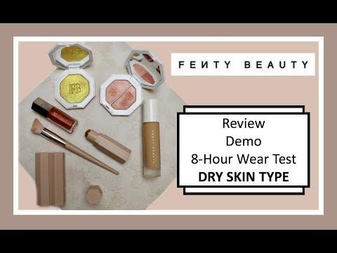 Fenty Beauty by Rihanna | Dry Skin Wear Test | Haul, Demo, Recommendations