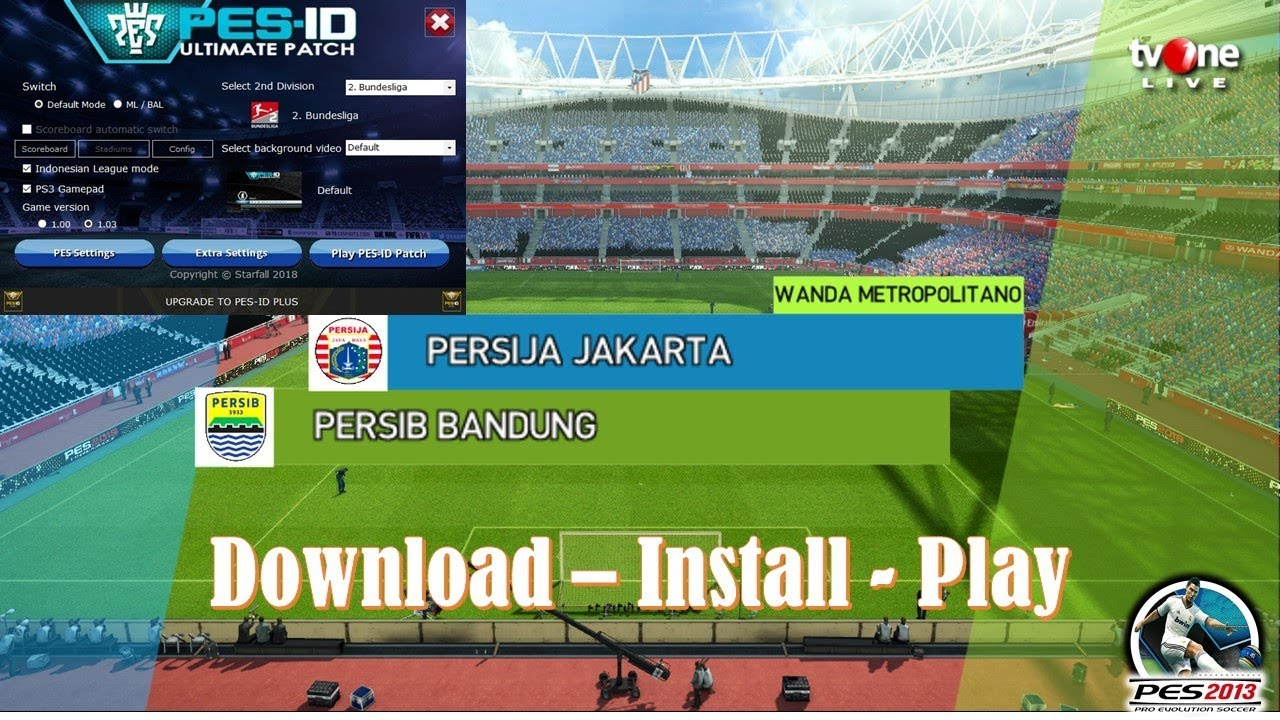 PES ID Ultimate patch v7 AIO PES 2013