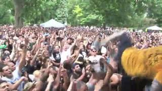 "Cro-Mags JM ""Hard Times"" Dr. Know benefit 7/23/16 Tompkins Square Park NYC"
