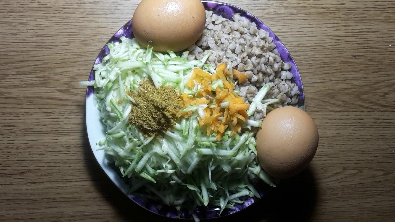 ДИЕТИЧЕСКИЕ оладьи из гречки и кабачков для похудения за 5 минут. ХУДЕЕМ вкусно с каналом ТУТСИ