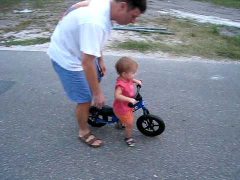 21 Month Old On Strider Balance Bike Pre Bike Youtube