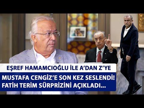 'Fatih Terim yönetimsel görevler alabilir, açıklama ahlaki değil'   Eşref Hamamcıoğlu ile A'dan Z'ye