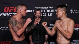 UFC Greenville: Weigh-in Faceoffs