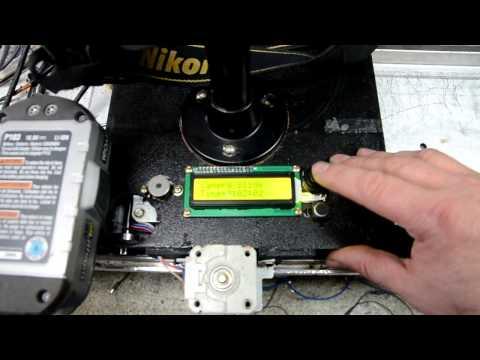 Full download home made camera slider stepper motor for Stepper motor camera slider