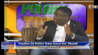 Politics Today: Panelists Assess Gov. Godwin Obaseki 100 Days In Office