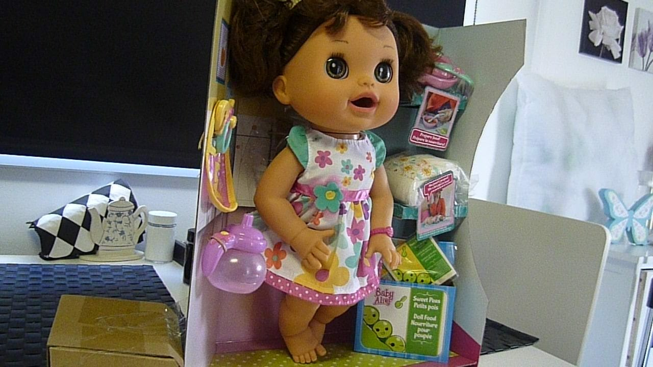 Baby alive unboxing real surprises youtube