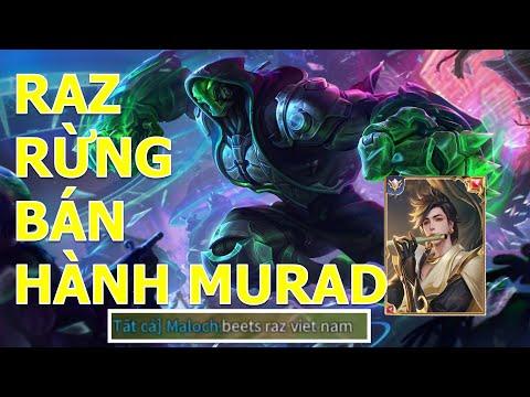 Không cho Murad thần kiếm chơi game!Đồng đội hết lời khen RAZ đi rừng mùa 15 Liên quân mobile