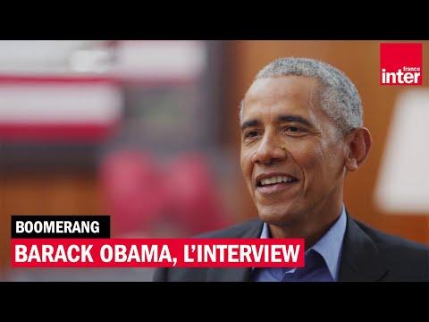 Barack Obama, l'interview
