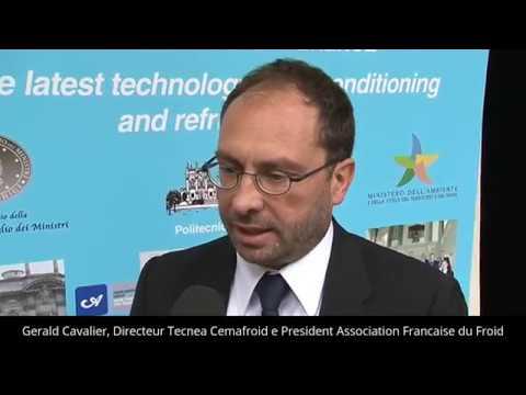 Gerald Cavalier, Directeur Tecnea - Cemafroid e President Association Francaise du Froid