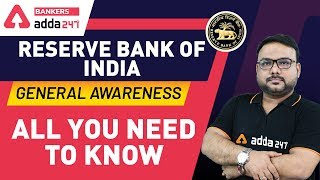 Reserve Bank Of India | All You Need to Know About RBI | General Awareness | Banking Awareness